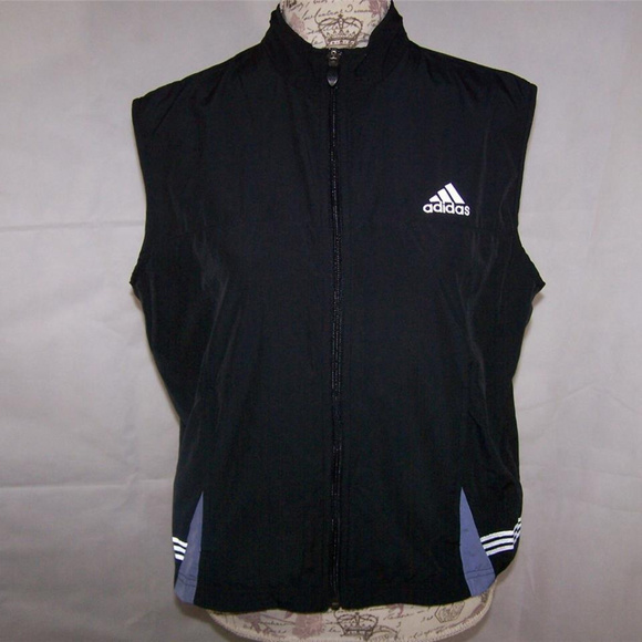 f3ea91126f471 adidas Tops - ADIDAS Vest Top M Athletic Zipper Sleeveless Vent